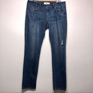CAbi Slim Boyfriend Jeans Size 6